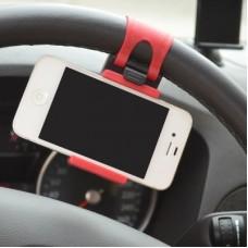 Автодержатель на руль Car Steering Wheel Phone Socket Holder