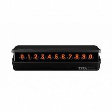 Временная карточка парковки Xiaomi BCASE TITA Temporary Parking Card Black
