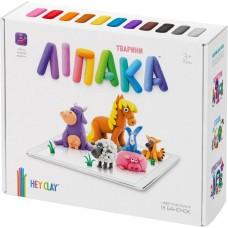 Набор пластилина Липака Животные 18 баночек 530 г Разноцветный