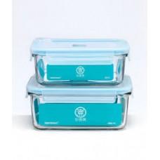 Набор пищевых контейнеров Xiaomi Tempermax Glasslock Aircap 2 шт. 715 мл 1100 мл (UGZ4001RT)