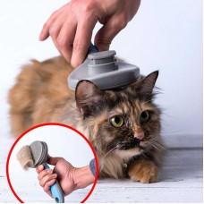 Щетка для чистки шерсти животных (розовая) Xiaomi Professional Pet Grooming Set