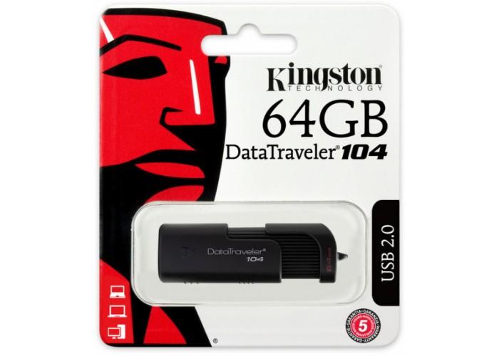 Флеш-накопитель Kingston DataTraveler 104 64gb